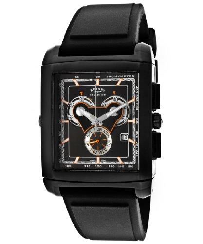 Rotary Men's 0006-TZ2-04-04 Evolution TZ2 Stainless Steel Watch