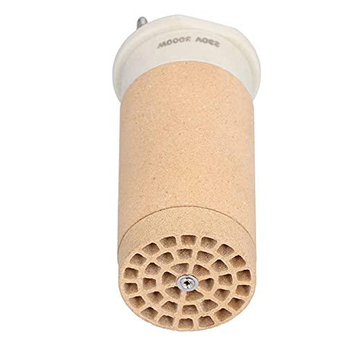 Elemento calefactor de cerámica, núcleo calefactor de cerámica de alta temperatura Easy Quick con cerámica resistente al calor para la mayoría de las personas para calentamiento de cerámica