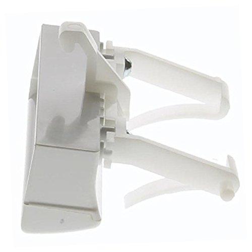 spares2go Tür Öffnung Kunststoff-Fußtritt Griff für Kaminöfen dw60i/2W Geschirrspüler (weiß)