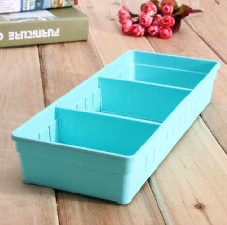 Bluelover Verstelbare make-up opbergbox lade voor thuis, keuken, kantoor, supplie, potloden, sieraden, organizer