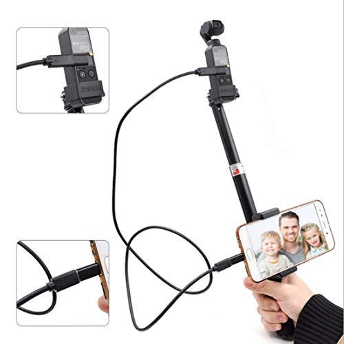 Draagbare Micro USB-poort Uitschuifbare Selfie Stick Vouwen Zelf Timer Stang voor DJI Nieuwe Zak, Voor DJI Drone Accessoires