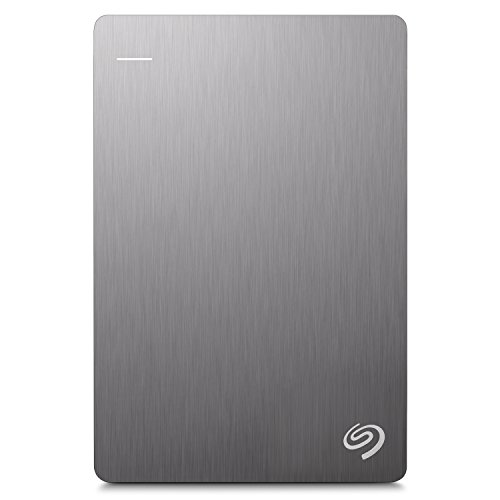 Seagate 1TB Backup Plus Slim (Black) USB 3.0 External Hard Drive for PC/Mac with 2 Months Free Adobe Photography Plan