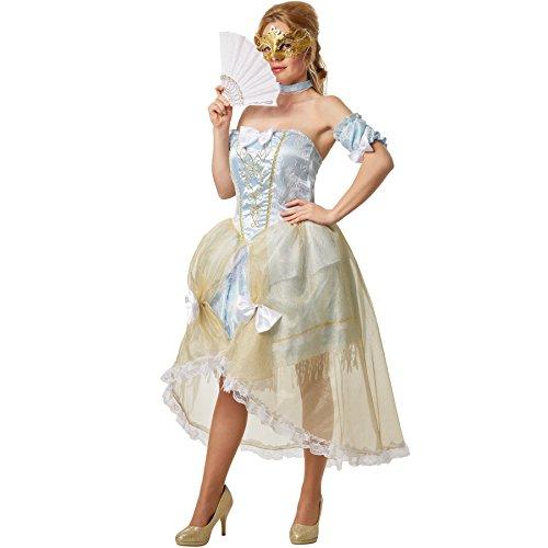 dressforfun Frauenkostüm im Sexy Barockstyle   Hochwertiges Barockkostüm mit mehrlagigem Petticoat (S   no. 301893)