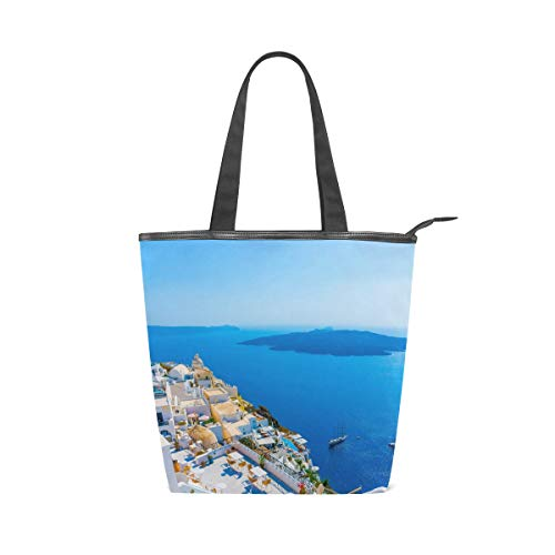 MONTOJ Grecia Santorini Caldera - Bolso de hombro