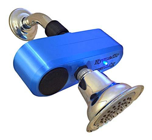 Hyquadio Water Hydro-Powered Bluetooth 4.0 Shower Speaker Waterproof - No Recharging Required