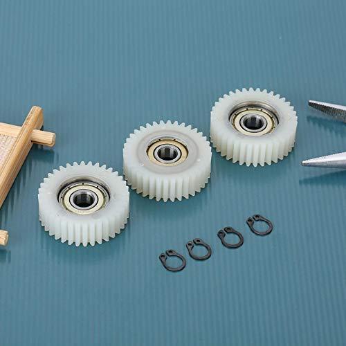 DAUERHAFT 3PCS Nylon Professional 36 Dents Moteur à Haute fiabilité, pour vélo électrique