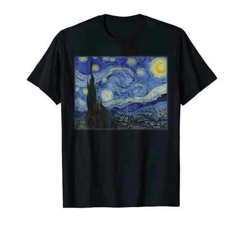 Sternennacht von Vincent van Gogh T-Shirt
