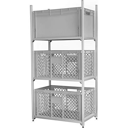 Regalsystem Heckgarage Caravan Wohnmobil für alle Marken passend Aluminium