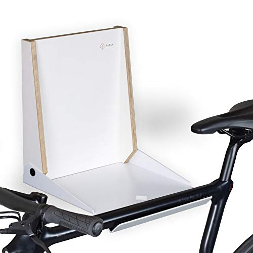 PARAX Design Fahrrad-Wandhalterung, Fahrradaufbewahrung, klappbare Fahrradhalterung, Wandhalter Fahrrad,