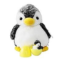 オーロラ ワールド ぬいぐるみ 指人形 アクアキッズ ニュー親子ペンギン