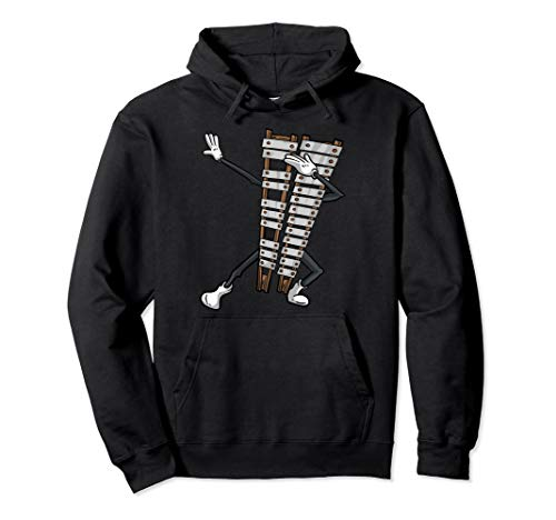 Cool Dabbing Glockenspiel   Funny Percussion Boys Girls Gift Pullover Hoodie