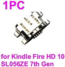 PHONSUN USB Charging Port Replacement for Amazon Kindle Fire 10 SL056ZE