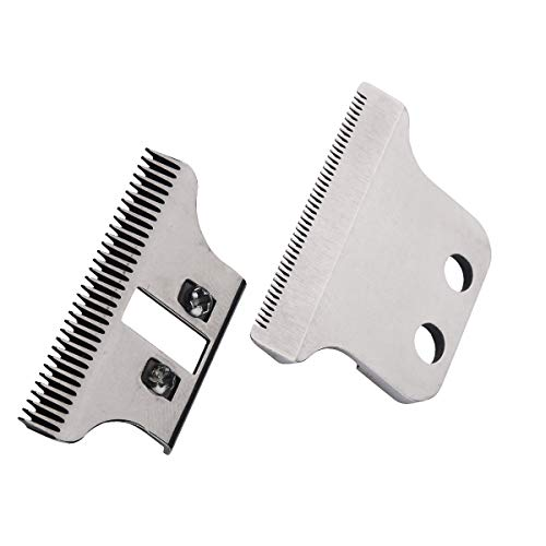 Professional Trimmer T-Wide Adjustable Replacement Clipper Blades Set#2215–#1062-60,Designed for Specific Wahl Hair Clippers Includes Screws and Instructions