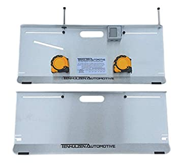Tenhulzen Automotive 2-Wheel Alignment Tool - All-in-one  Camber/Caster/Toe Plates  - Made in USA