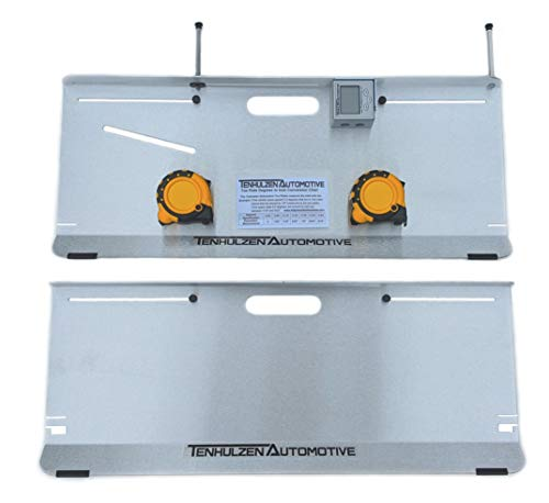 Tenhulzen Automotive 2-Wheel Alignment Tool - All-in-one (Camber/Caster/Toe Plates) - Made in USA