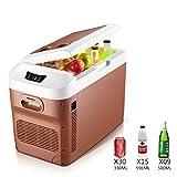 Meet World Nevera Portátil para El Coche, Portátil Refrigerador Compacto con Control Digital De Temperatura, Más Fresca Y Más, 15L