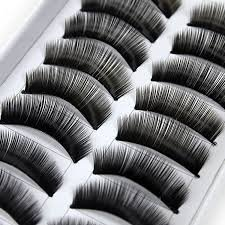 BOOLAVARD LGG paires de faux cils x10 pour les Parties ou les cheveux tous les jours de haute qualité