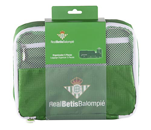 Real Betis Balompié Balompié Organizador de Equipaje - Producto Oficial del Equipo,...