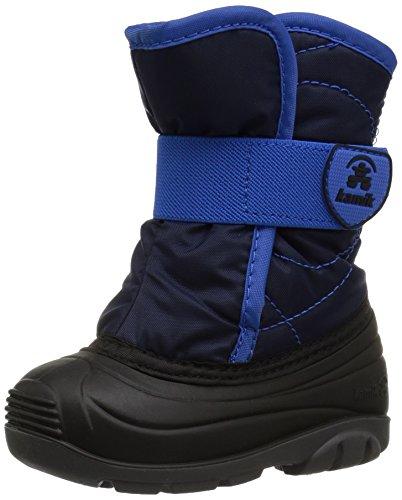 Kamik Unisex Baby SNOWBUG3 Snow Boot, Navy, 5 Medium US Toddler