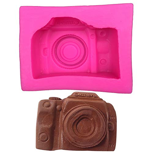 sina Kamera Silikonform-Kamera Kuchen Form-Kamera Schokolade Form-2Stück
