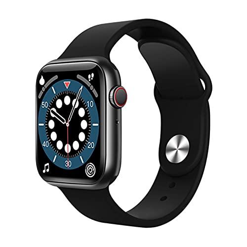 Topuality - Reloj inteligente de 1,75' con pantalla completa T500 + Plus Series 6 2020 versión 5 Plus Reloj Llamada iwo 13