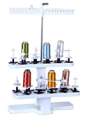 Purchase ShineBear 20-Spool Plastic Thread Stand Universal for All Home Embroidery Machines STS-20