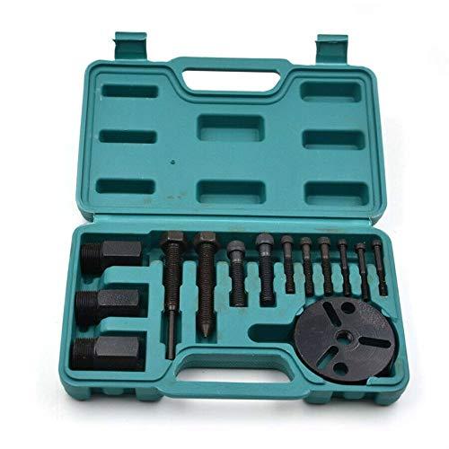 Camisin 14 Piezas A/C Compresor Extractor de Embrague A/C Extractor Instalador Kit de Herramientas de Aire Acondicionado Kit de ReparacióN de AutomóViles