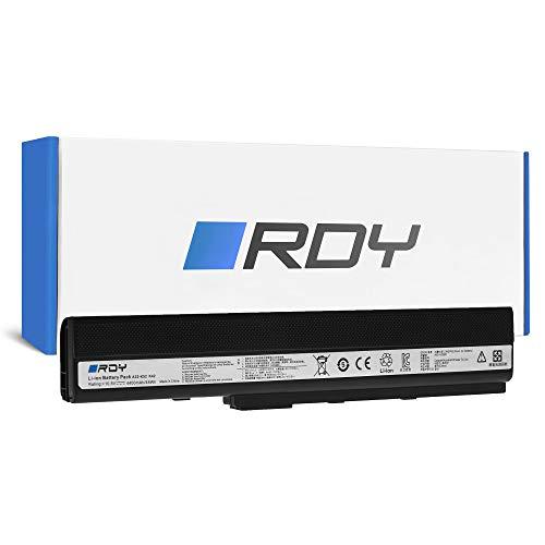 RDY Laptop Akku A32-K52 für Asus A52 A52F A52J A52N B53 K42 K52 K52 K52D K52DR K52F K52J K52J K52JC K52JE K52JK K52JR K52JT K52N K62 X52 X52 X52D X52F X52J X52N X62