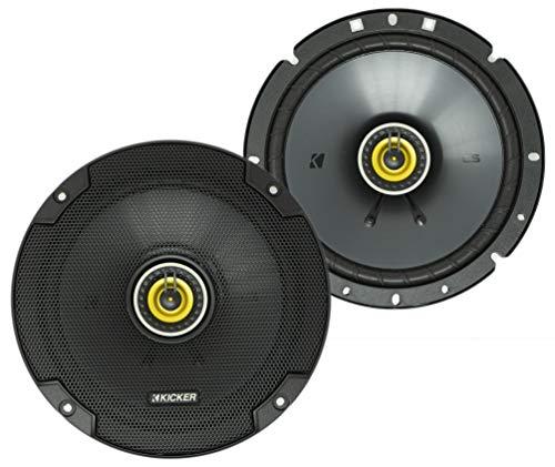 KICKER 46CSC674 CS Series Low Profile 6,75 Zoll 3,3 Ohm 100 Watt RMS Power Factory Ersatz Koaxial Car Audio Sound System Lautsprecher (Paar)