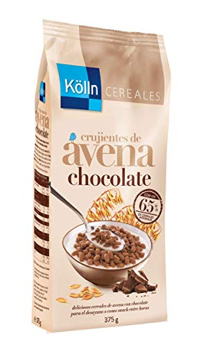 Kölln Kölln | Cereales de Chocolate Integrales Con Copos de Avena Crujiente |Cereales Integrales Para Desayunos y Meriendas | 375 G 2002 ml