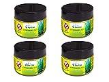 PURLINE Pack de 4 latas 125 gr Cada una de Gel de citronela Repelente de Mosquitos CITRONGEL