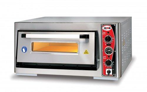 Pizzaofen mit Thermometer, 1 Kammer, 4 Pizzen Ø 34 cm