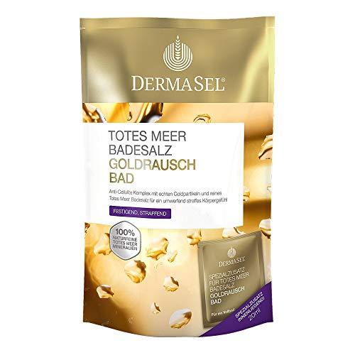 DERMASEL Totes Meer Badesalz+Gold EXKLUSIV 1 P