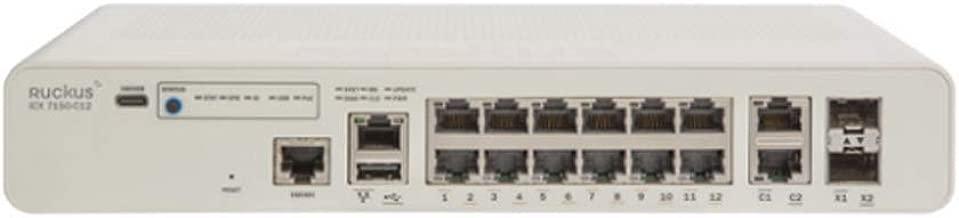 Ruckus Brocade ICX 7150 Compact Switch (ICX7150-C12P-2X1G)