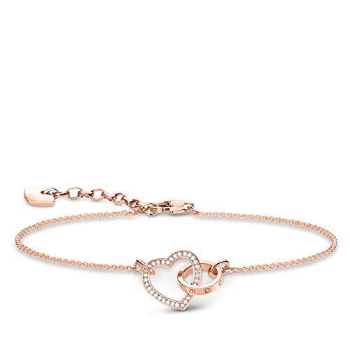 Thomas Sabo Damen-Handketten Silber_vergoldet A1730-416-14-L19v