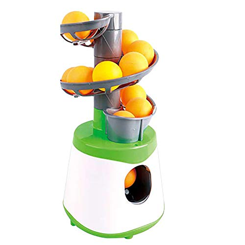 Mini Robot, Entretenimiento Interactivo Deportivo Máquina De Pelotas De Tenis De Mesa, Máquina De Lanzamiento De Servicio Entrenador De Mesa De Tenis Regalos De Juegos Deportivos para Niños Ad