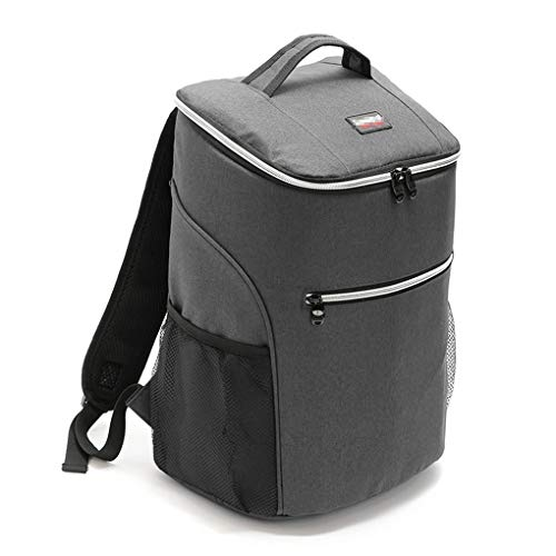 Xindiqiu 20L Cooler Backpack Insulated Picnic Lunch Backpack with Hard Liner Cool Bag Rucksack for Outdoor Activities