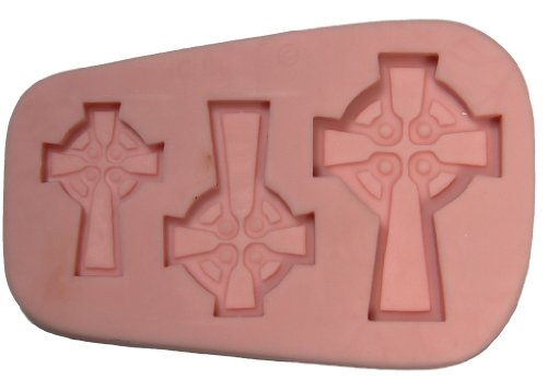 Fleximold Silicon Mold,'Celtic Cross' Mold