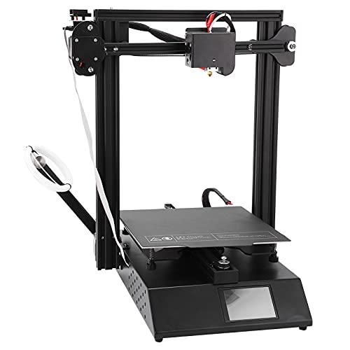Impresora 3D De Alta Precisión, Impresora 3D Pantalla LED A Color De 3,5 Pulgadas Diseño De Cama Caliente De Grano Impresión De Alta Precisión De 0,1 Mm Para Repetidor(Estándar europeo 250V)