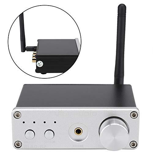 fasient Amplificador de Audio Digital DAC Ajustable, Amplificador estéreo de Alta Potencia, para Fibra coaxial