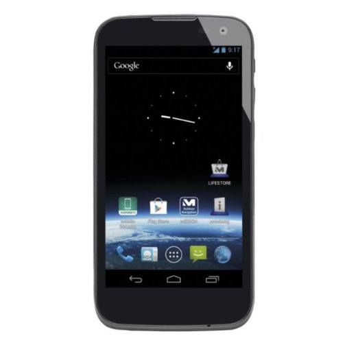 MEDION LIFE X4701 (MD 98272) 11,93 cm (4,7 Zoll) Smartphone (Touchscreen, 8.0 MP, Android, 8GB, Bluetooth) schwarz