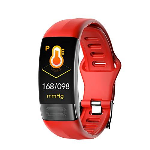 GYAM Smartwatch Fitness Tracker mit Herzfrequenz/Blutsauerstoff/Blutdruckmessgerät, wasserdicht IP67...