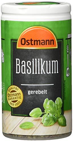 Ostmann Basilikum gerebelt, 4er Pack (4 x 13 g)