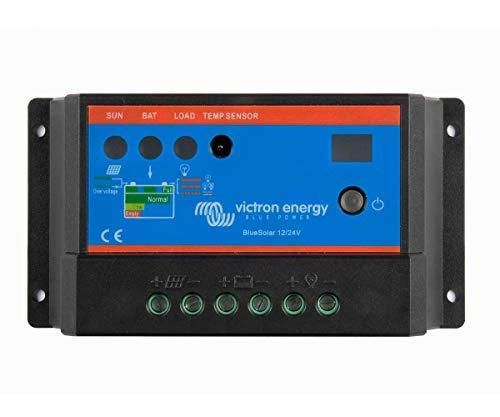 Regulador de Carga Solar PWM 12/24V 30A BlueSolar Light | 5 Años Garantía Victron Energy
