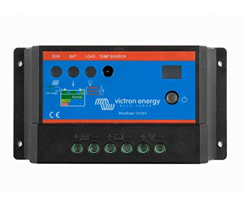 Regulador de Carga Solar PWM 12/24V 10A BlueSolar Light