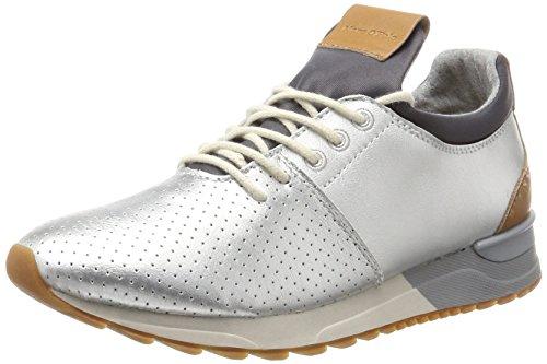 Marc O\'Polo Damen 70713893502102 Sneaker, Silber (Silver), 38 EU