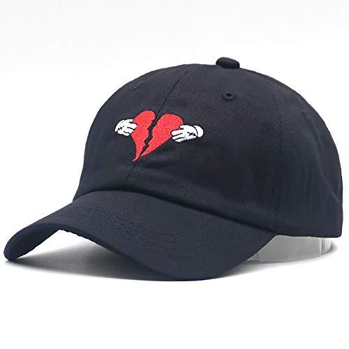 JKYJYJ Unisex Fashion Kanye West Heart Break Album Cap Trend Hip Hop Dad Hat Snapback New Kanye Baseball Cap Adjustable Cotton Caps