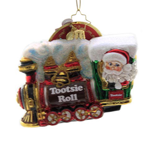 Christopher Radko All Aboard The Tootsie Express! Christmas Ornament