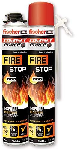 Fischer 097968 Espuma resistente al fuego, 750ml