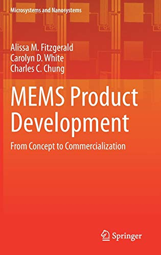 MEMS Product Development: From Concept to Commercialization Front Cover